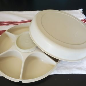Tupperware divided container